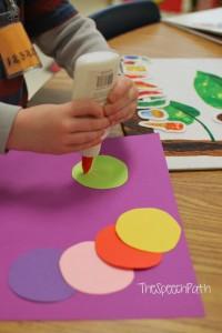 Creating the caterpillar