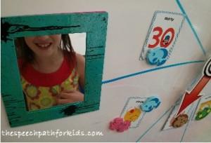 Using a mirror for visual feedback