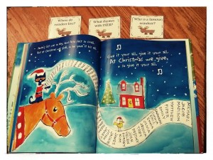 "Combining WH?s and ""Pete the Cat Saves Christmas"""