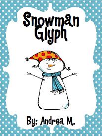 Snowman glyph freebie by Andrea M.