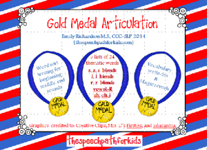 gold medal articulation