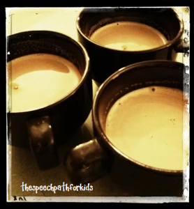 Warm milk, 1/2 tsp cocoa, 1 tsp pure maple syrup = mmmm!