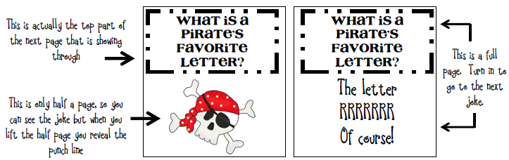 pirate joke visual