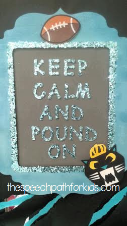 keep pounding door sign