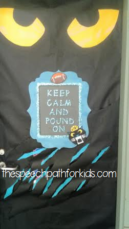 keep pounding door