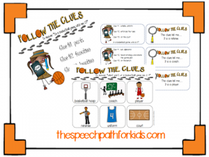 Follow clues bball 1