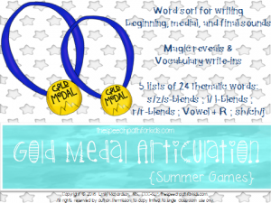 Gold medal Summer cover