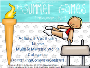 Summer games cover