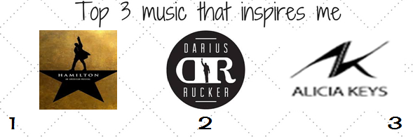 top 3 music