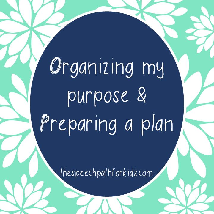 blog organizing and preparing