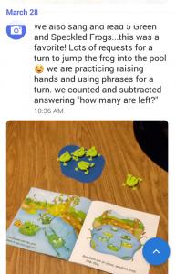 brightwheel photo 5 frogs